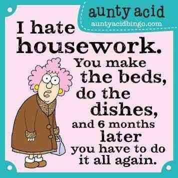 Aunty Acid cleaning