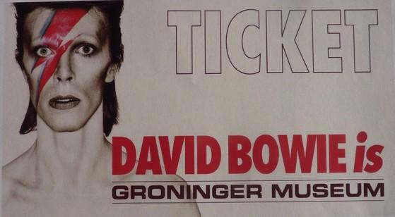 Bowie ticket