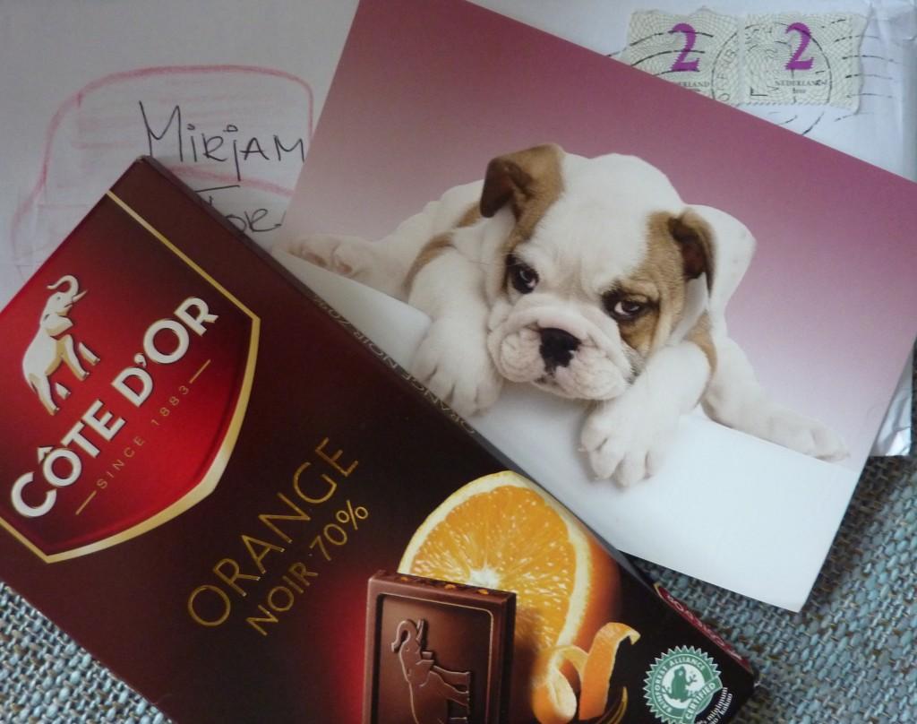 chocola van Klaproos